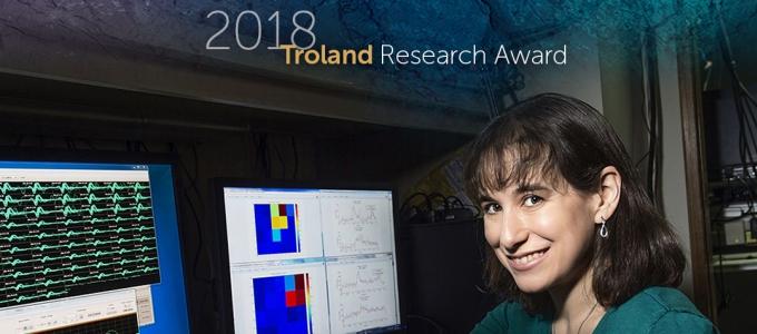 Marlene Cohen 2018 Troland Research Award